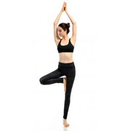 Černé legíny na jógu